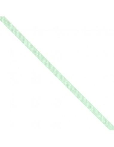 Ruban Gros grain unis 9mm vert d'eau
