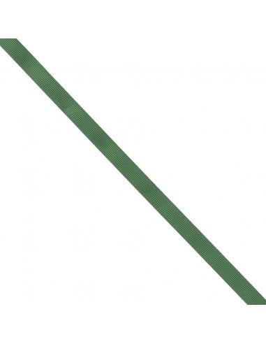 Ruban Gros grain unis 9mm Vert épinard