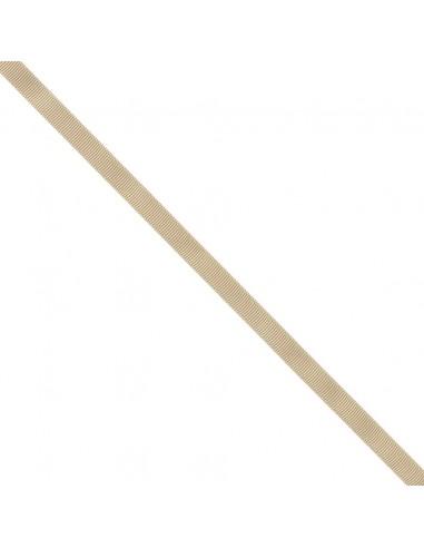 Ruban Gros grain unis 9mm Sable