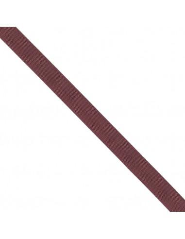 Ruban Gros grain unis 25mm Rouge grenat