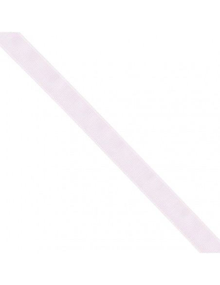 Ruban Gros grain unis 25mm Rose dragée
