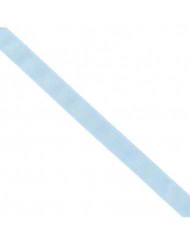 Ruban Gros grain unis 25mm Bleu layette