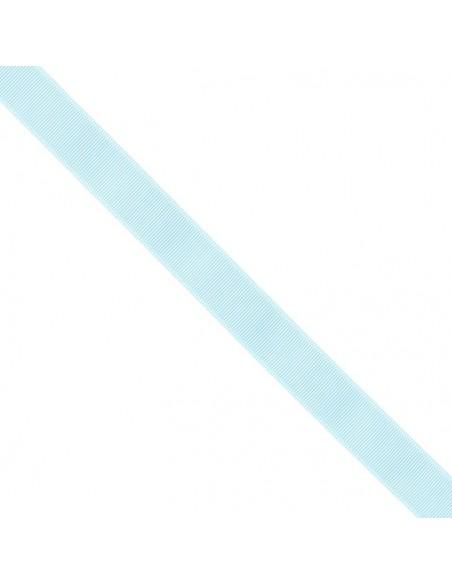 Ruban Gros grain unis 25mm Bleu ciel
