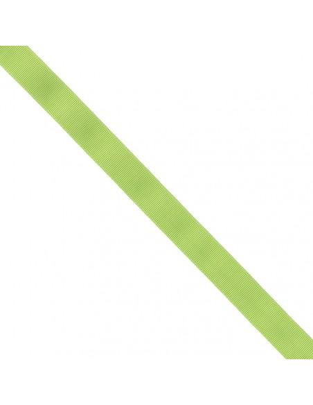 Ruban Gros grain unis 25mm Vert prairie