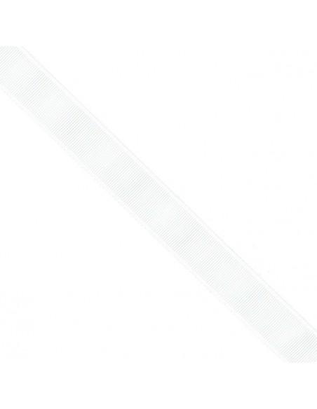 Ruban Gros grain unis 38mm Blanc