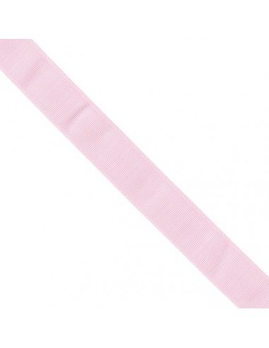 Ruban Gros grain unis 38mm Rose perle