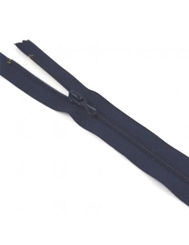 Fermeture Eclair Nylon 10cm Marine