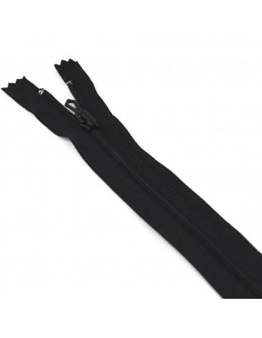 Fermeture Eclair Nylon 20cm Noir