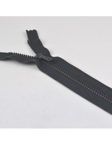Fermeture Eclair Métallique 15cm Anthracite