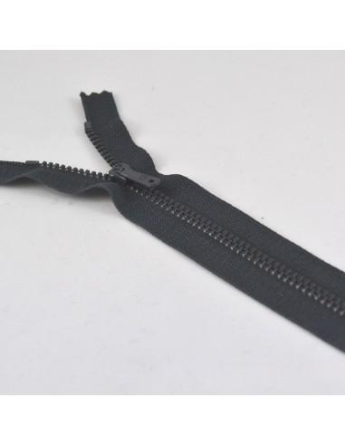 Fermeture Eclair Métallique 18cm Anthracite
