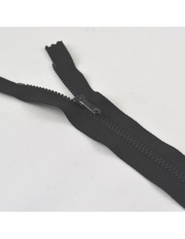 Fermeture Eclair Métallique 20cm Noir