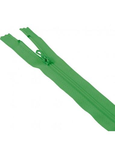 Fermeture Eclair Nylon 20cm Vert billard