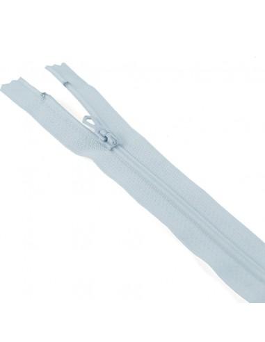 Fermeture Eclair Nylon 12cm Bleu azur