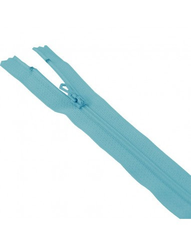 Fermeture Eclair Nylon 12cm Bleu gitane