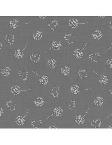 Tissu en coton léger Odonata Ciel d'orage motif 202