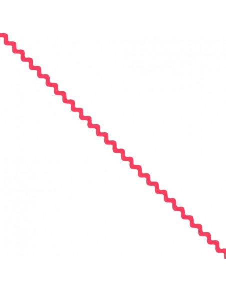 Serpentine ''Toutextile'' 8mm coloris Rose fluo