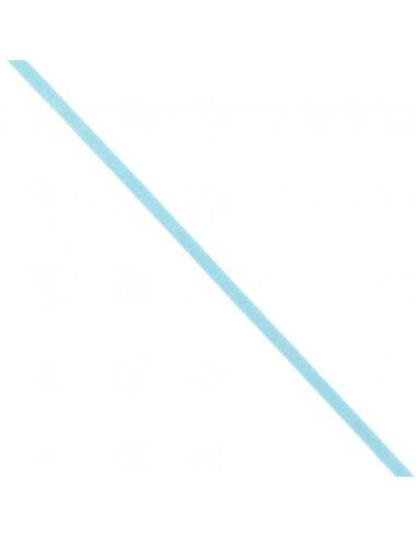 Ruban de Satin double face 6mm Bleu lagon