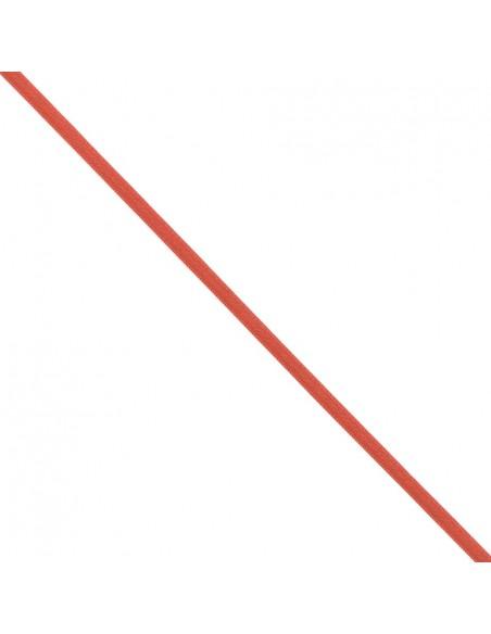 Ruban de Satin double face 6mm Rouge vermillon