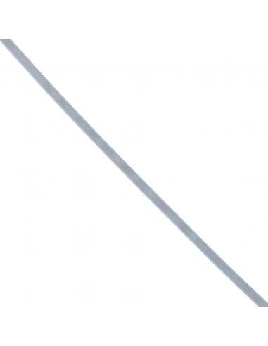 Ruban de Satin double face 6mm Gris souris