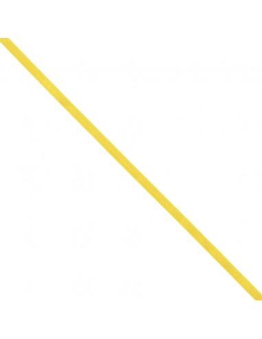 Ruban de Satin double face 6mm Jaune canari