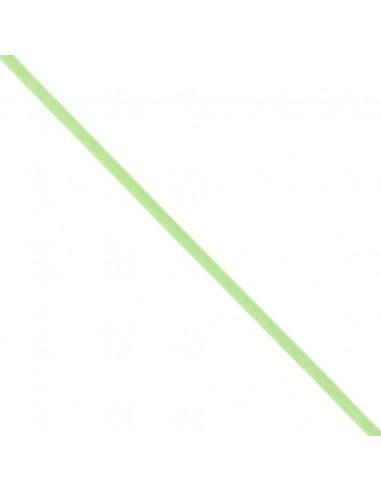 Ruban de Satin double face 6mm Vert printemps