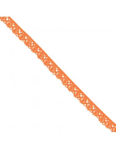 Dentelle polyester 15mm Capucine
