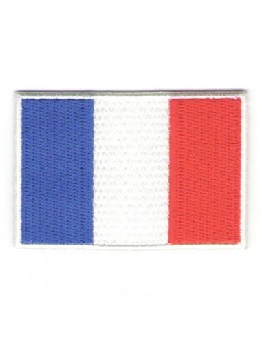 Thermo badge Drapeau français