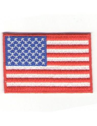 Thermo badge Drapeau américain