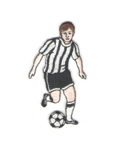 Thermo badge Footballeur