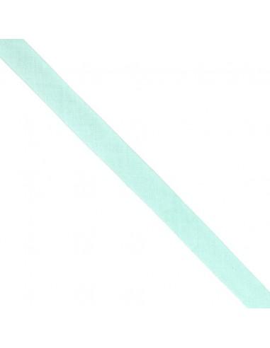Biais Toutextile 20mm Bleu lagon