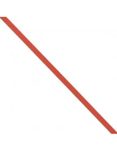 Ruban de Satin double face 8mm Rouge vermillon