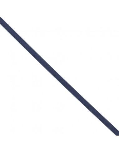 Ruban de Satin double face 8mm Bleu marine
