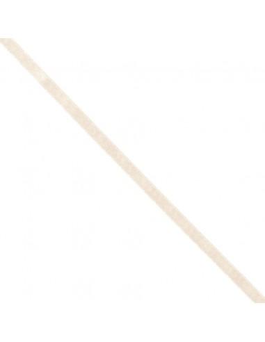 Ruban de Satin double face 8mm ivoire