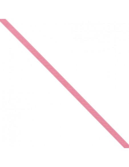 Ruban de Satin double face 8mm Rose dragée