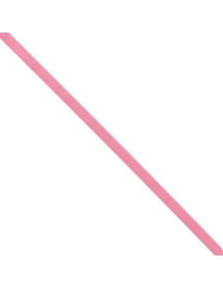 Ruban de Satin double face 8mm Rose Bonbon