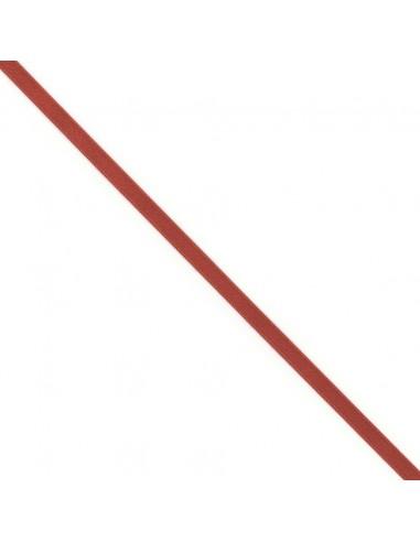 Ruban de Satin double face 8mm Rouge hermes