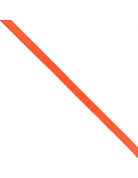 Ruban de Satin double face 8mm Orange fluo