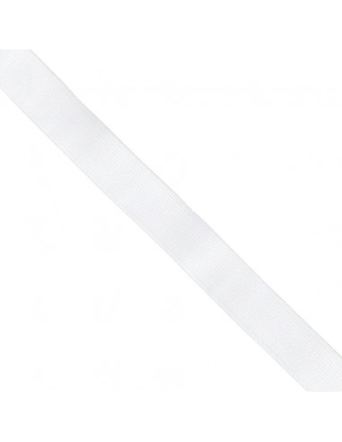 Elastique ELAMAILLE 25mm Blanc