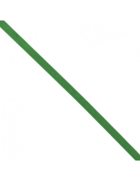 Ruban de Satin double face 10mm Vert billard