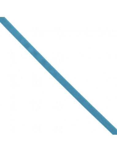 Ruban de Satin double face 10mm Bleu canard
