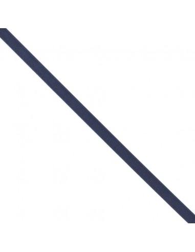 Ruban de Satin double face 10mm Bleu marine