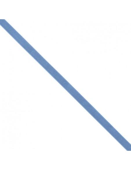 Ruban de Satin double face 10mm Bleu clair