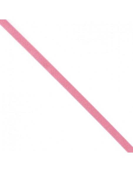 Ruban de Satin double face 10mm Rose dragée