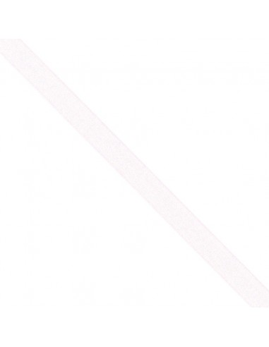 Ruban de Mousseline 15mm Rose perle