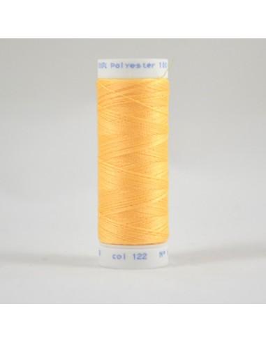 Bobine de 100m de fil à coudre Polyester Jaune miel