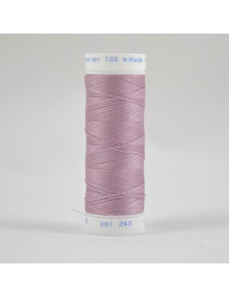 Bobine de 100m de fil à coudre Polyester Tourterelle