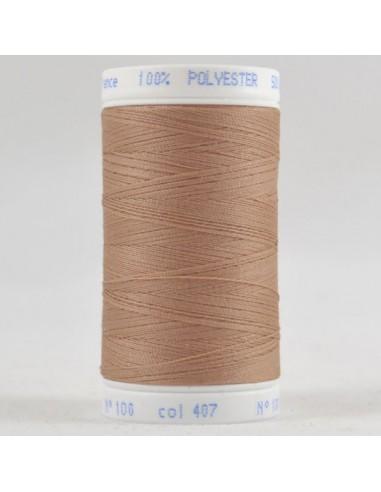 Bobine de 500m de fil à coudre Polyester Ficelle