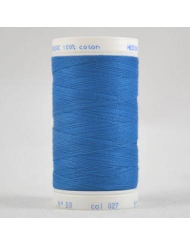 Bobine de 445m de fil à coudre Coton Bleu de bondi