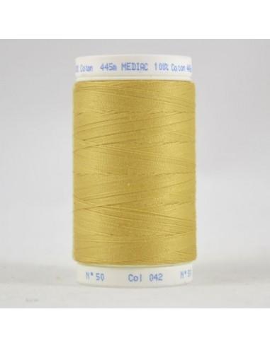 Bobine de 445m de fil à coudre Coton Tilleul