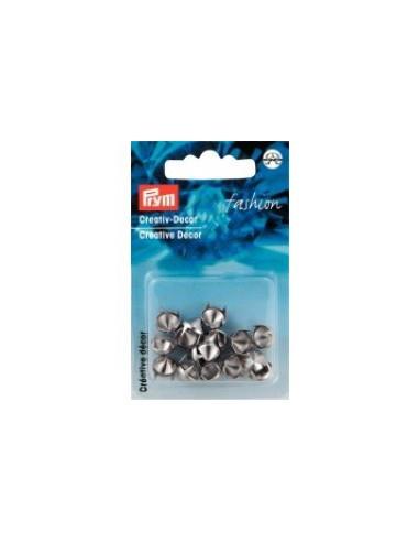 Dômes argentés à griffes - 16 pièces